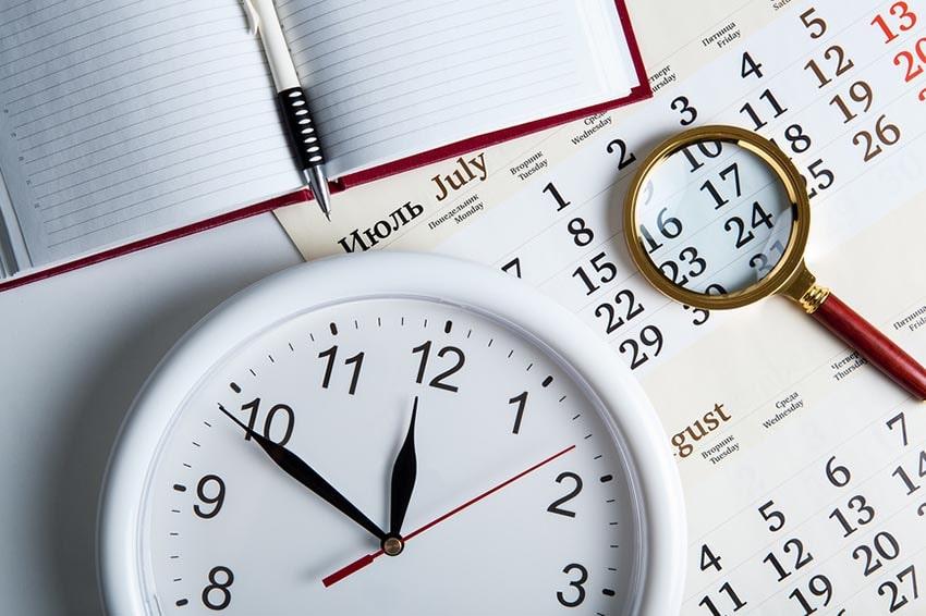 методы учета времени